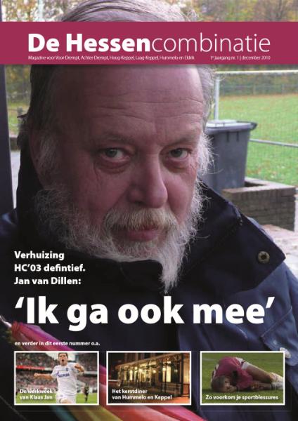 de Hessencombinatie uitgave 1 (december 2010)