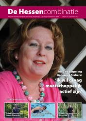 cover magazine de Hessencombinatie uitgave 12 | september 2013