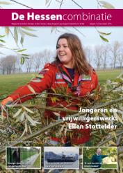 cover magazine de Hessencombinatie uitgave 25 | december 2016