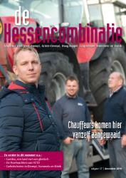 cover magazine de Hessencombinatie uitgave 37 | december 2019