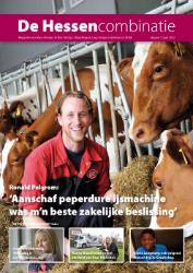 cover magazine de Hessencombinatie uitgave 7 | juni 2012