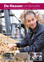 cover magazine de Hessencombinatie uitgave 9 | december 2012